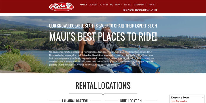 Maui Web Designer